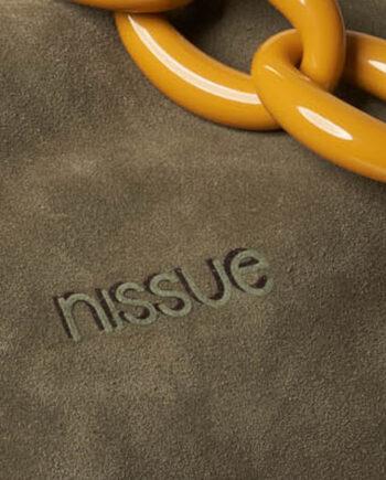 Nissue Hobo Handbag in Truffle